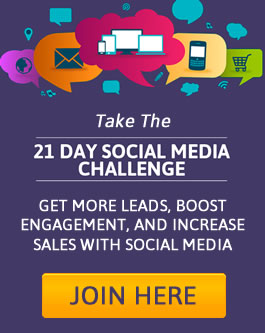 Take this 21 day social media challenge Sept 21 2016