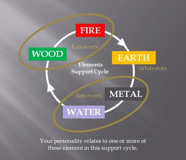 Personal Element Support Cycle