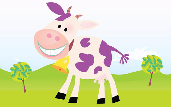 A Remarkable Purple Cow