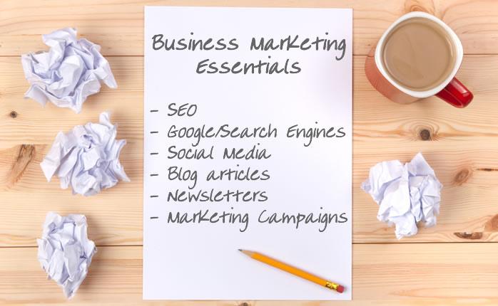 Business marketing Essentials