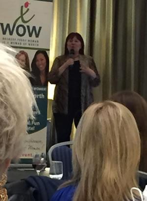 Christine Awram WOW awards 2017