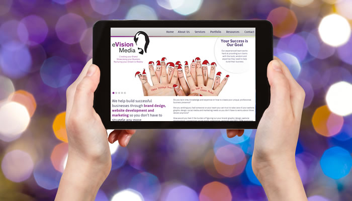 Deck Out Your Business Website and Social Media in Holiday Style!