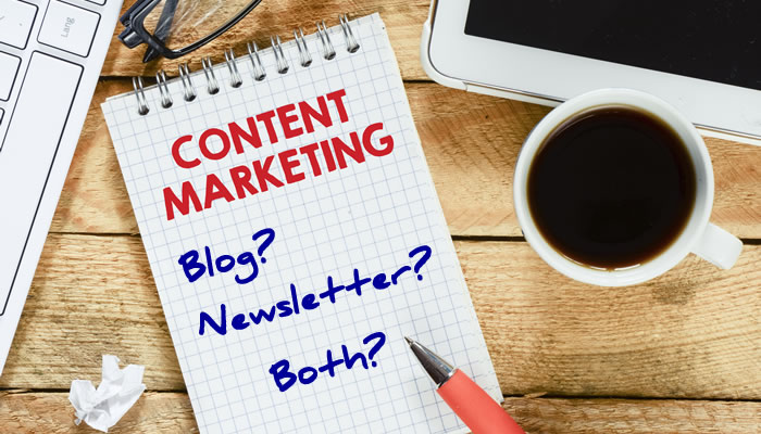 Blogging or Newsletters or Both?