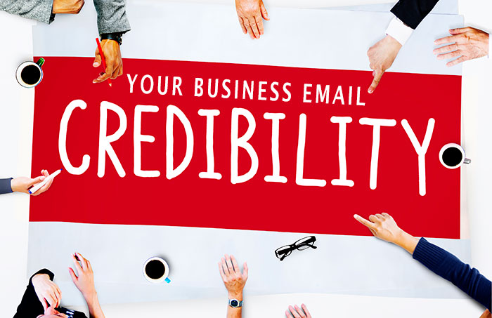 Proof Why Using Your Personal Email for Business Is Hurting Your Credibility