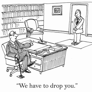 Firing a client - we have to drop you