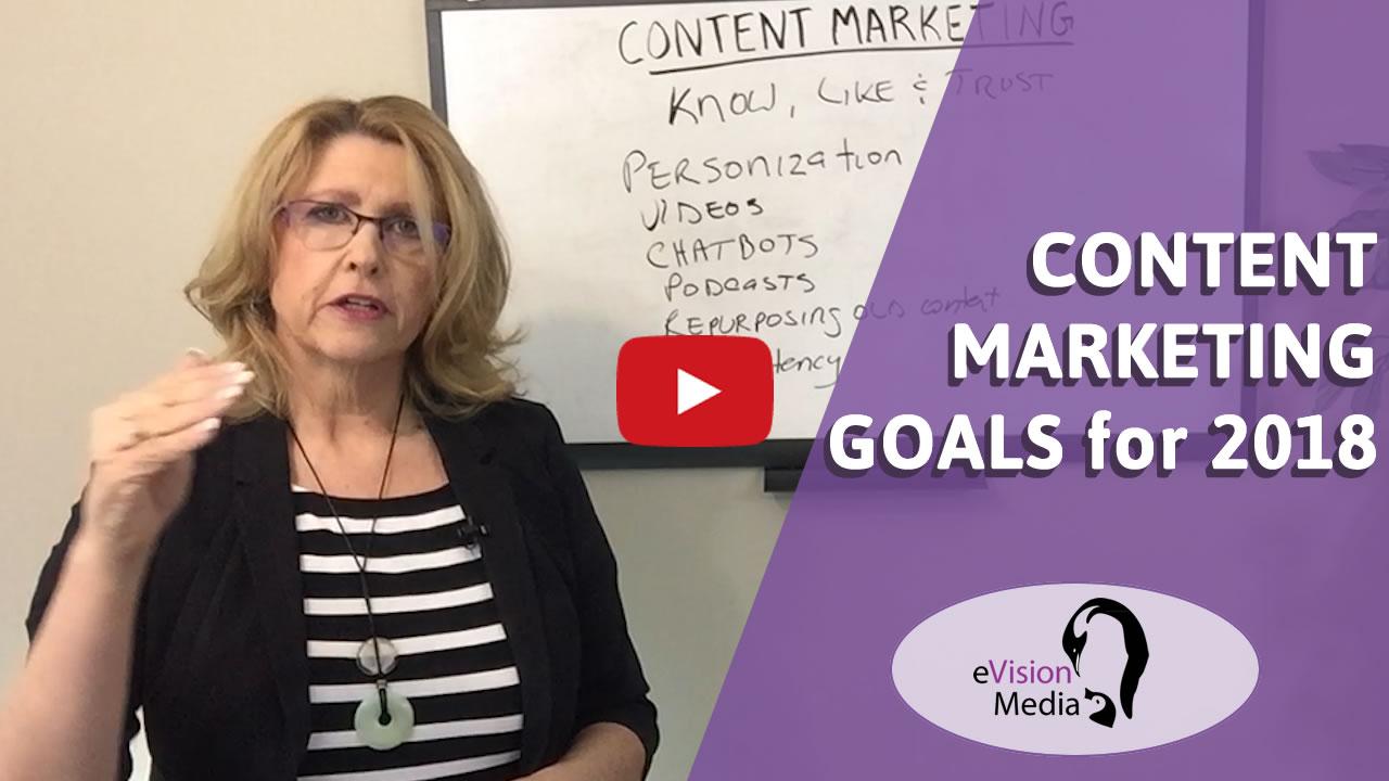content marketing goal setting