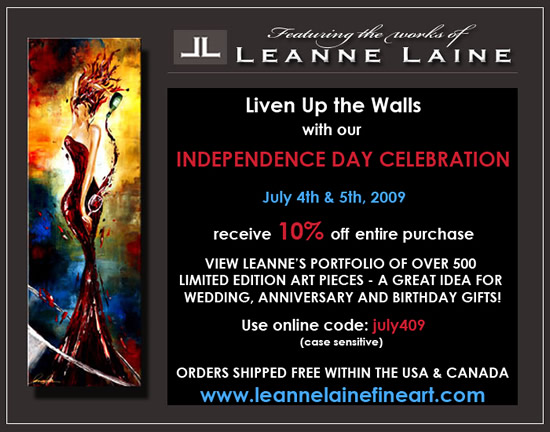 Leanne Laine 10% Off Sale. Promo Code:  july409