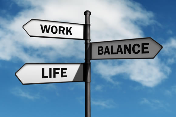 Life Work Balance sign post