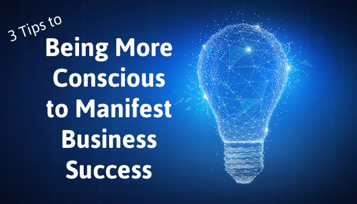 Being More Conscious to Manifest Business Success