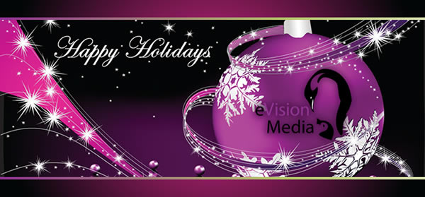 Happy Holidays from eVision Media