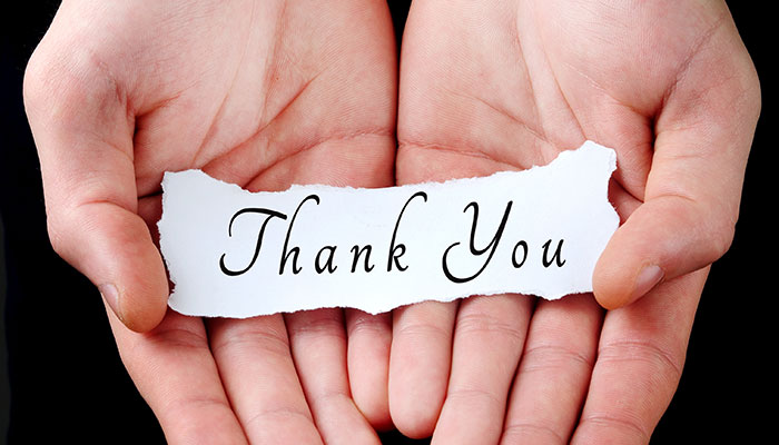 ABC's of Business – Gratitude