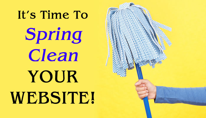 It's time to spring clean website