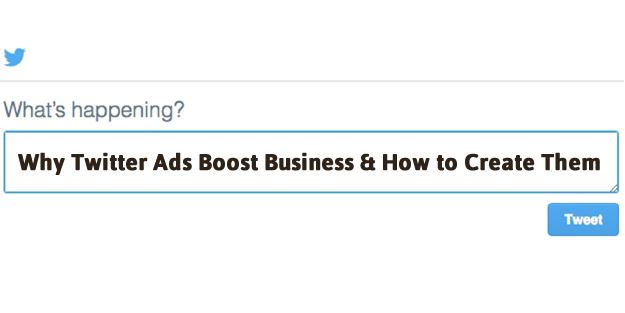 How to create Twitter ads