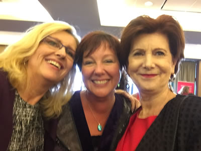 visual branding with Dana Smithers, Julie Salisbury and Susan Friesen