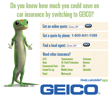 GEICO car innsurance