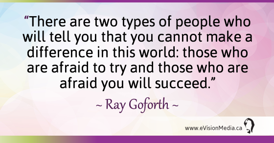 Quote Two Types People Ray Goforth Evision Media
