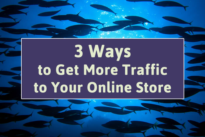 adcd4abf1 Introduction to Marketing: 3 Ways to Get More Traffic to Your Online Store