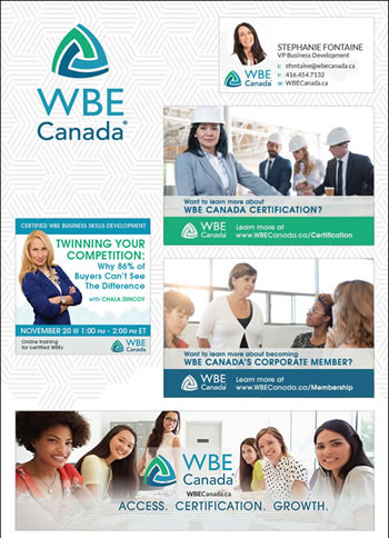 WBE Silver Branding