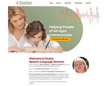 Szalay Speech and Language Services