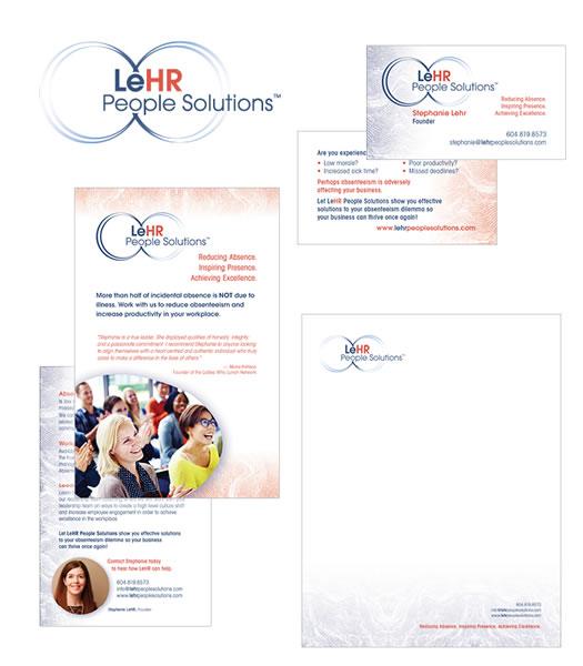 LeHR People Solutions Branding Package